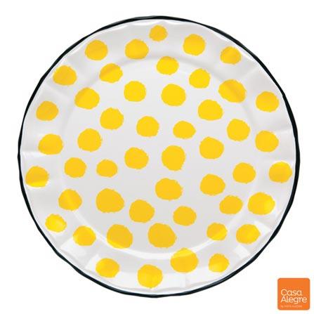 , Amarelo, Spicy, Cerâmica, 01 Peça
