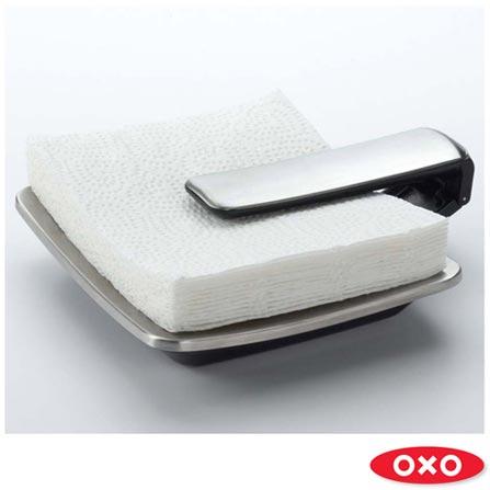 Suporte para Guardanapos em Aço Inox - Oxo, Inox, Spicy, Aço Inoxidável, 01 Peça