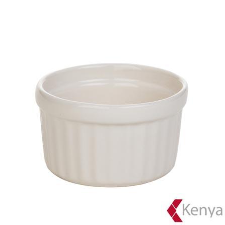 Ramekin em Cerâmica com 9,5cm Branco Cotelle - Kenya, Branco, Spicy, Cerâmica, 1