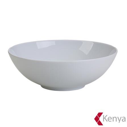Bowl de Porcelana com 26cm de Diâmetro Branco Royal - Kenya, Branco, Spicy