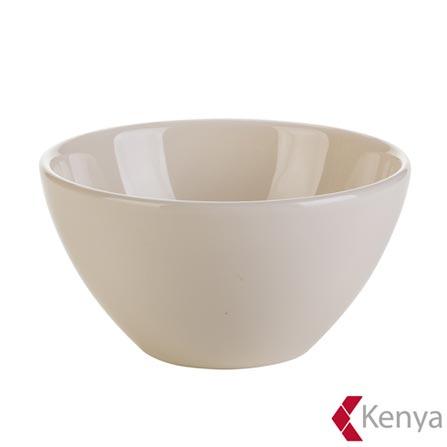 Bowl em Cerâmica 600ml de Capacidade Branco Clear - Kenya, Não se aplica, Spicy