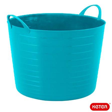 Balde Flexi Tub com 17 Litros de Capacidade - Keter, Azul, Spicy