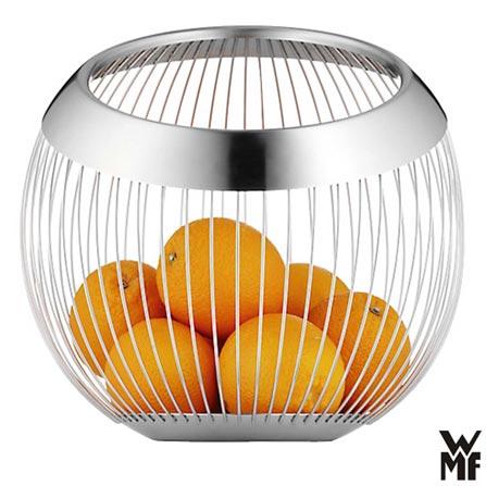 Cesta em Aço Inox com 29 cm Lounge - WMF, Inox, Spicy, Inox, 01 Peça