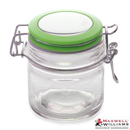 Pote em Vidro com 100 ml de Capacidade Verde Cosmopolitan – Maxwell & Williams, Verde, Spicy, Vidro, 1