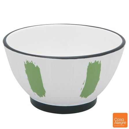 Tigela em Cerâmica com 693 ml Verde - Casa Alegre, Verde, Spicy, Cerâmica, 1
