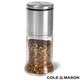 Moedor para Especiarias em Vidro e Aço Inox - Cole & Mason