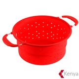 Escorredor de Alimentos em Silicone Vermelho – Kenya