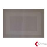 Jogo Americano em PVC com 01 Peça Frame Cinza – Kenya