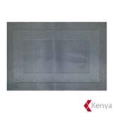 Jogo Americano em PVC com 01 Peça Frame Prata - Kenya