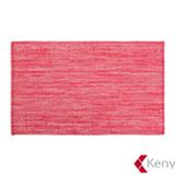 Jogo Americano em PVC com 01 Peça Summer Vermelho - Kenya