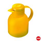 Garrafa Térmica com Capacidade de 1 Litro Quick Press Samba Amarela - Emsa