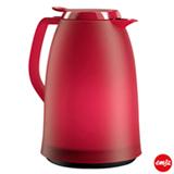 Garrafa Térmica com Capacidade de 1 Litro Mambo Quick Tip Vermelho - Emsa