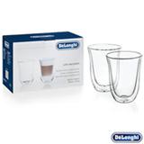 Conjunto de Copos para Latte Macchiato em Vidro de 220 ml com 02 Peças - DeLonghi
