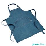 Avental em Algodão Azul Jeans - Jamie Oliver