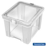 Caixa Organizadora Office 30 Litros Transparente - Tramontina