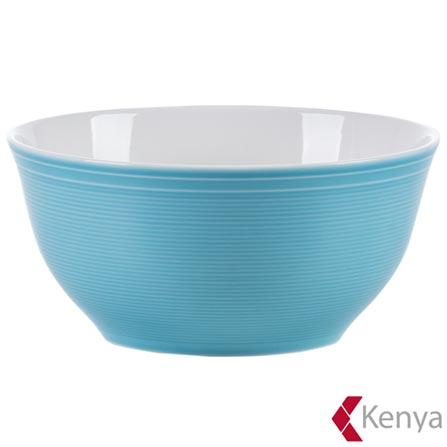 , Azul, Spicy, 04 Peças, Porcelana