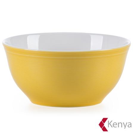 , Amarelo, Spicy, 04 Peças, Porcelana