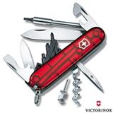 Canivete CyberTool com 26 Funções em ABS e Celidor Vermelho Translúcido - Victorinox