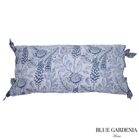 , Branco e Azul, Blue Gardenia