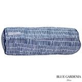 Rolo para Cama com Recheio Sunflower Azul Marinho - Blue Gardênia
