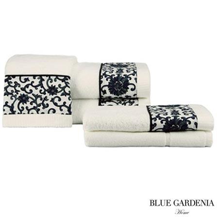 , Branco, Blue Gardenia