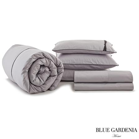 , Cinza, Blue Gardenia