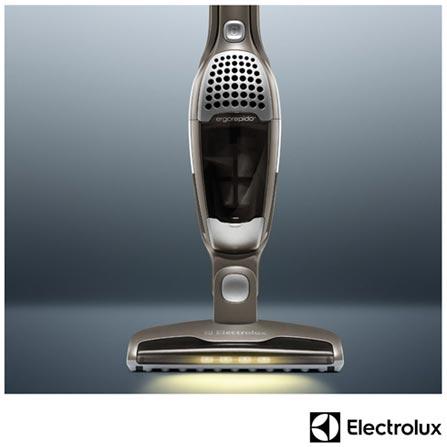 Aspirador de Pó 2 em 1 Ergorápido Electrolux com 0,5 Litros de Capacidade Zinco - ERGO5, Bivolt, Bivolt, Não se aplica, 0,5 Litros, Pó, 12 meses, Electrolux