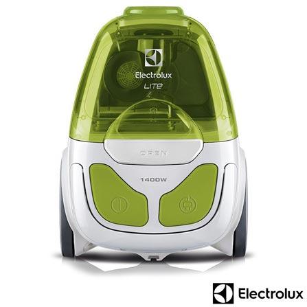 , 110V, 220V, Branco e Verde, 1,7 Litros, Pó, 12 meses, Electrolux