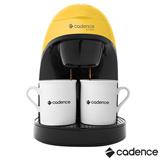 Cafeteira Cadence Single Colors Amarela para Café em Pó - CAF114