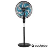 Ventilador de Coluna Cadence Ventilar Supreme com 03 Velocidades Preto - VTR865