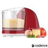 Mini Processador Cadence Easy Cut Colors Vermelho, Capacidade de 0,32 Litros - MPR511