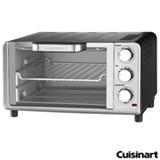 Forno Elétrico Cuisinart para Tostar, Assar e Grelhar com Capacidade de 10 Litros - TOB 80BR
