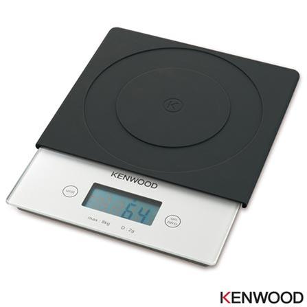 Balança de Alta Precisão Kenwood para Até 8 kg Prata - AT8650, Prata, 03 meses, Kenwood