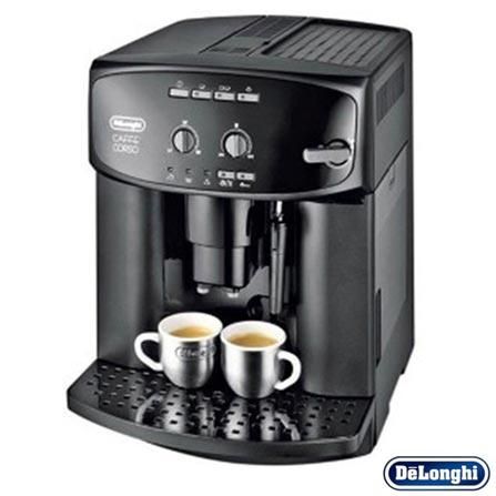 Cafeteira DeLonghi Superautomática Preta para Café Espresso - ESAM 2600, 110V, Preto, 12 meses, Delonghi, 1350 W
