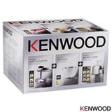 Kit Moedor, Espremedor e Fatiador em Aço Inox - Kenwood