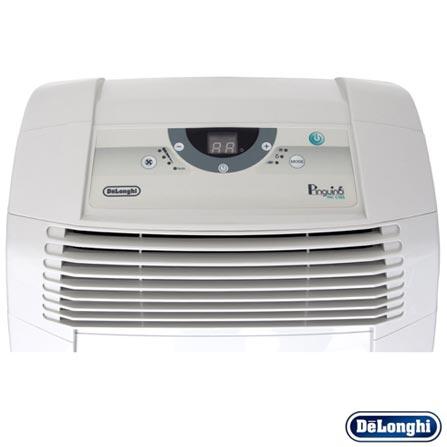 Ar Condicionado Portatil Pinguino Pac DeLonghi com 10.500 BTUs Frio Branco - C105, 110V, Branco, 1200 W e 1000 W, 24 meses, Delonghi