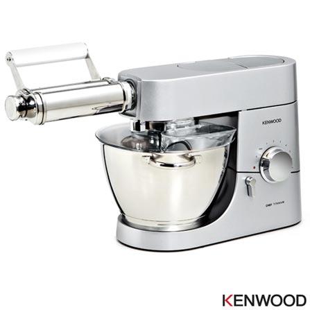 Rolo para Esticar Massas Kenwood em Inox para Cooking Chef e Major Titanium - AT970A, Não se aplica, 03 meses, Kenwood