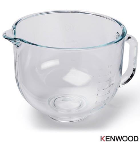 Bowl de Vidro Kenwood para Batedeira kMix - AX550, Não se aplica, 03 meses, Kenwood