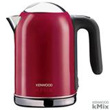 Chaleira Eletrica kMix Kenwood com Capacidade de 1,6 Litros Raspberry Vermelha - SJM031