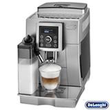 Cafeteira DeLonghi Superautomática Prata e Preta para Café Espresso - ECAM 23.450.S
