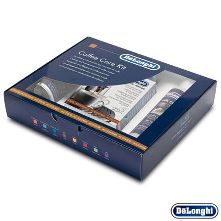 Kit de Cuidados Delonghi para Máquina de Café com Descalcificante - Modelos ESAM, Não se aplica, 03 meses, Delonghi