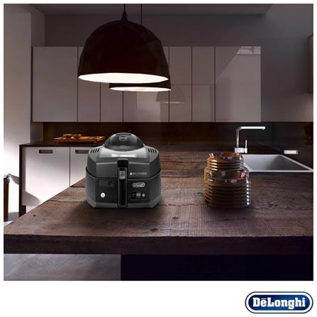 Fritadeira Air Fryer Multicuisine Young DeLonghi com 3,2 Litros, 110V, Preto, 12 meses, Delonghi