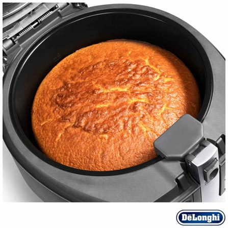 Fritadeira Elétrica DeLonghi Digital Air Fryer Multicuisine - FH1394, 110V, 220V, Preto, 12 meses, Delonghi