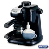 Cafeteira DeLonghi Azul e Preta para Café Espresso - EC 9