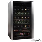 Adega de Vinho Easy Cooler para 34 Garrafas com Ate 18 C - HS-125WE