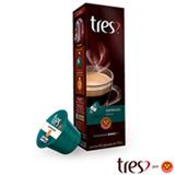 Cápsulas de Café Tres Espresso Pleno 10 Unidades para Máquina 3 Corações