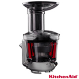 Extrator de Sucos KitchenAid Slow Juicer para Stand Mixer Onyx Black - KI102AE