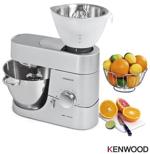 Espremedor de Frutas Kenwood para Cooking Chef e Major Titanium - AT312, Branco, 03 meses, Kenwood
