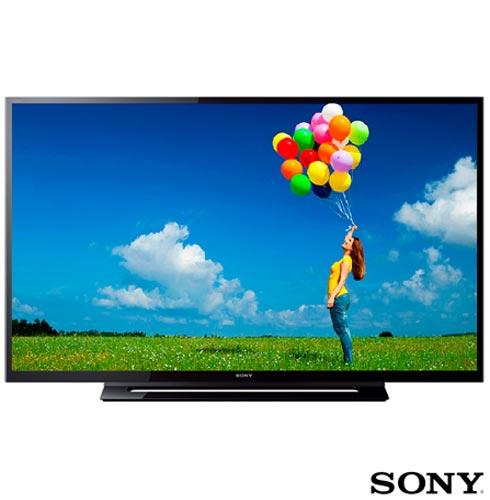 TV LED Sony 32 HD com Radio FM, USB, HDMI e Motion Flow 120hz - KDL-32R305B, 110V, Preto, De 26'' a 39'', 12 meses, Não, Não, 120 Hz, HD, 32'', LED, Sony
