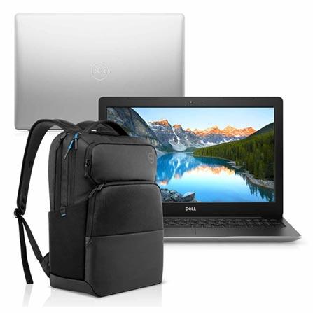 Notebook - Dell I15-3583-ms110sb I7-8565u 1.80ghz 8gb 128gb Híbrido Amd Radeon 520 Windows 10 Home Inspiron 15,6